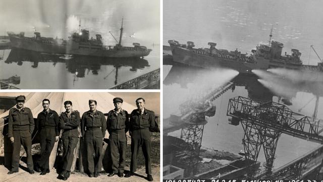 Ovako je izgledalo potapanje nacističkog broda u Rijeci '45