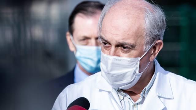 Uručenje uređaja za terapiju visokog protoka kisika KBC Split