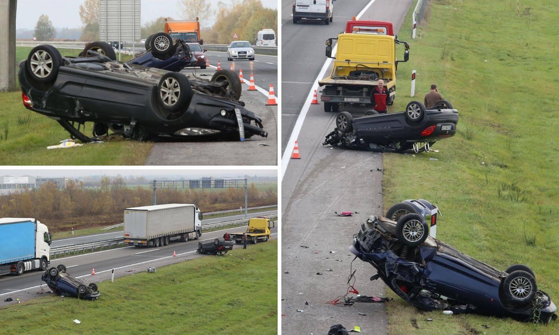 Strašna nesreća na A3: Vidjela sam kako ženu izvlače iz auta