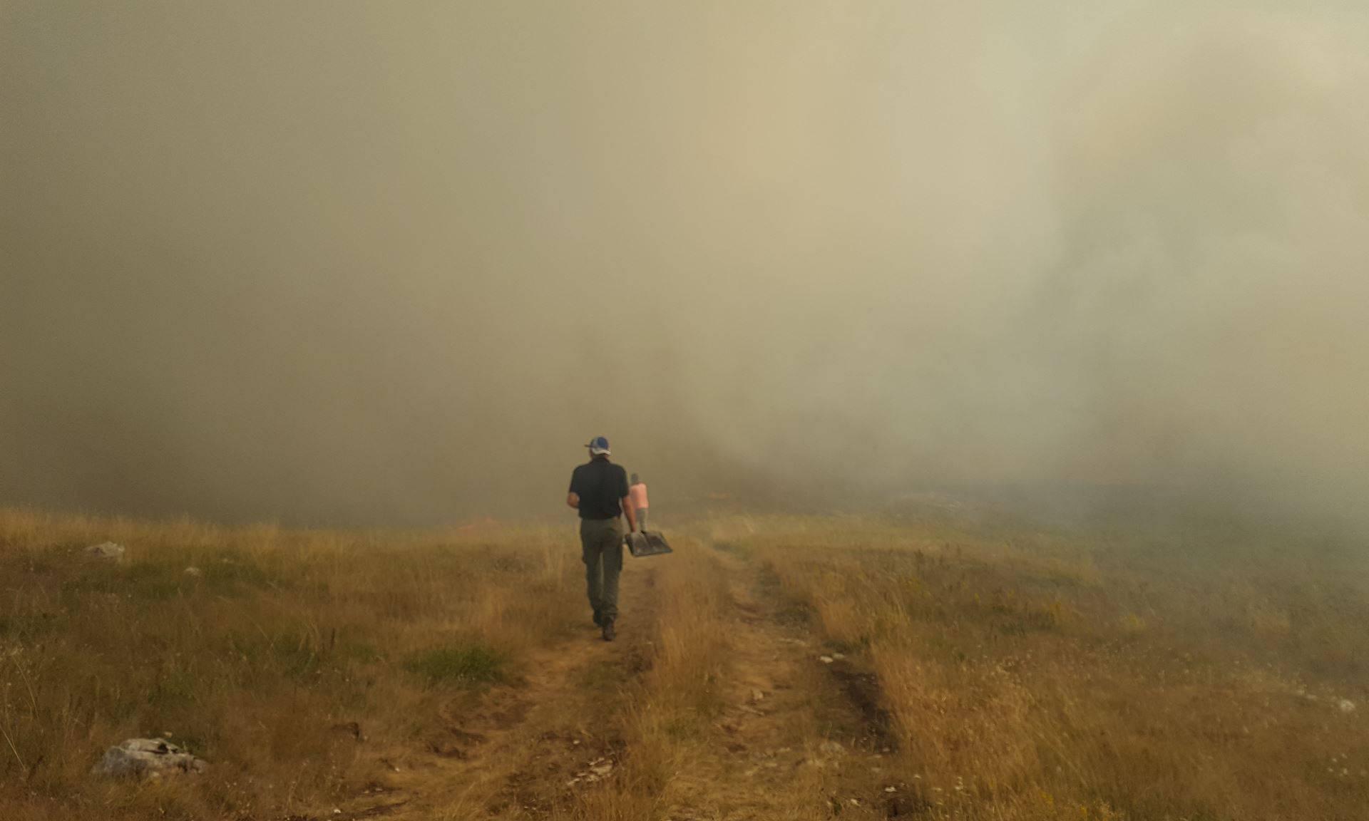 Božić: Gori na Dinari, požar je možda i veći od onog splitskog