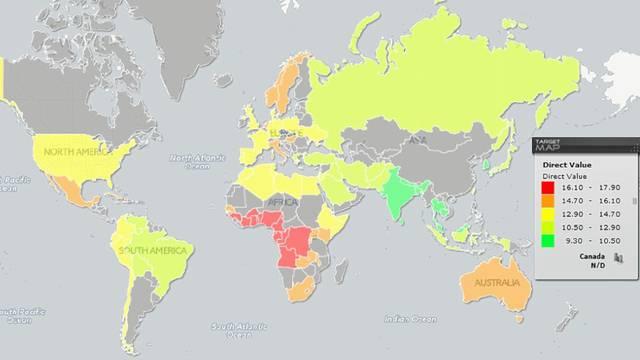 Ova karta svijeta pokazuje gdje su muškarci s najvećim penisom