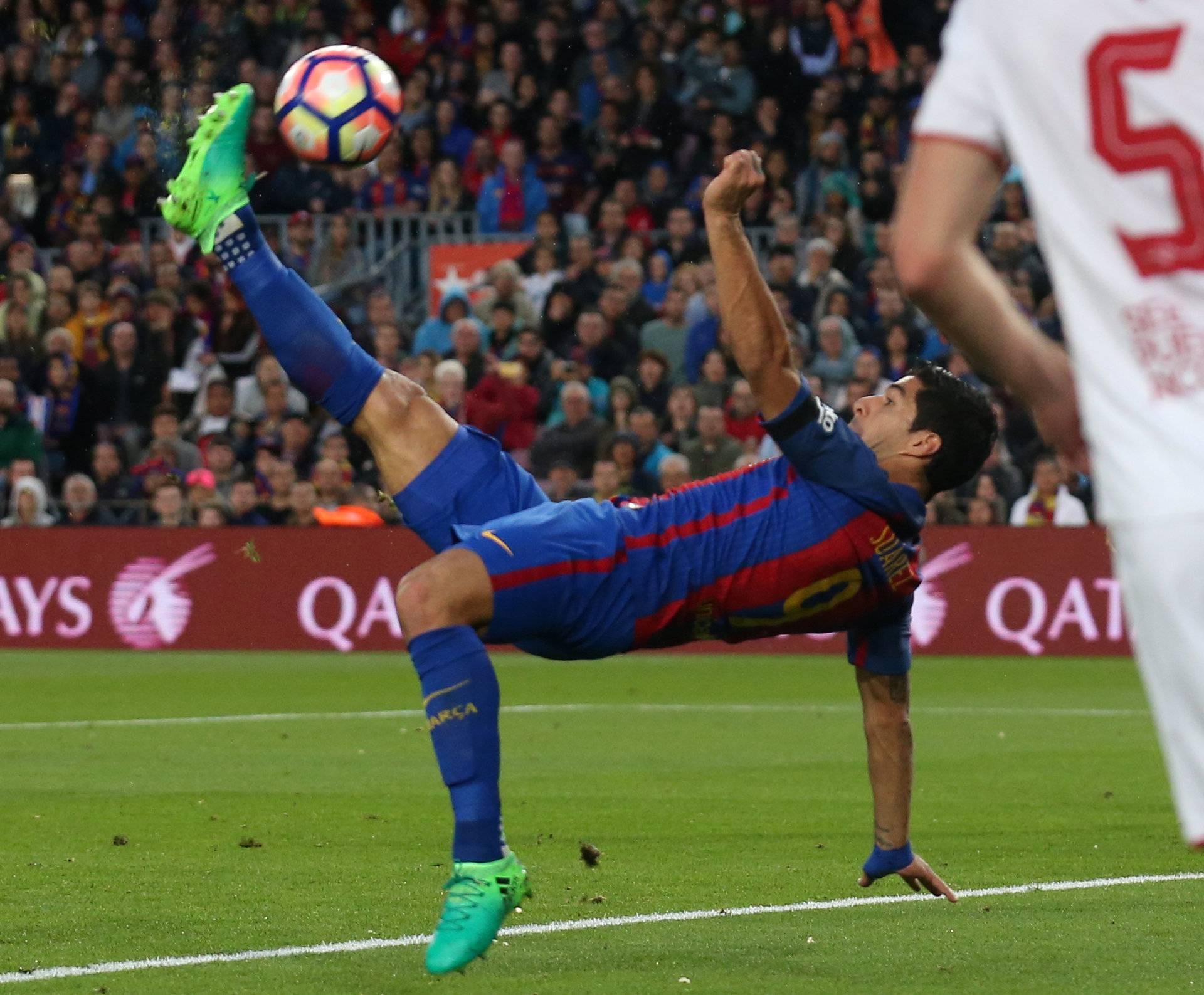 Soccer Football - Barcelona v Sevilla - Spanish La Liga Santander - Camp Nou stadium