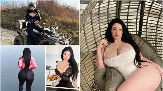 Influencerica iz Zagreba opčinila strane medije: 'Nisam operirala grudi, samo sam se udebljala...'