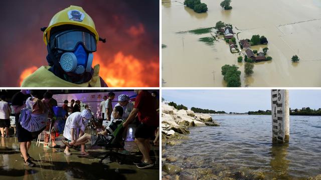 Ekstremni vremenski uvjeti razaraju gradove diljem svijeta: U Kini poplave, u Sibiru požari