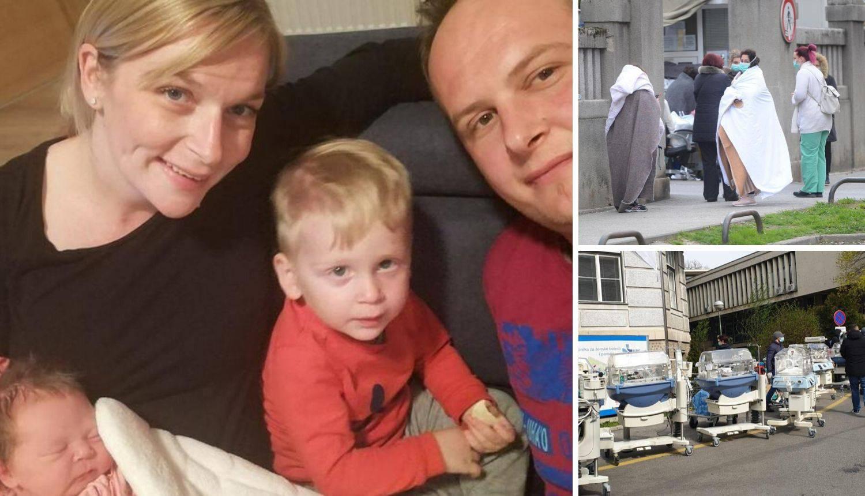 Rodila par sati nakon potresa u Petrovoj: 'Bilo ju je jako strah'