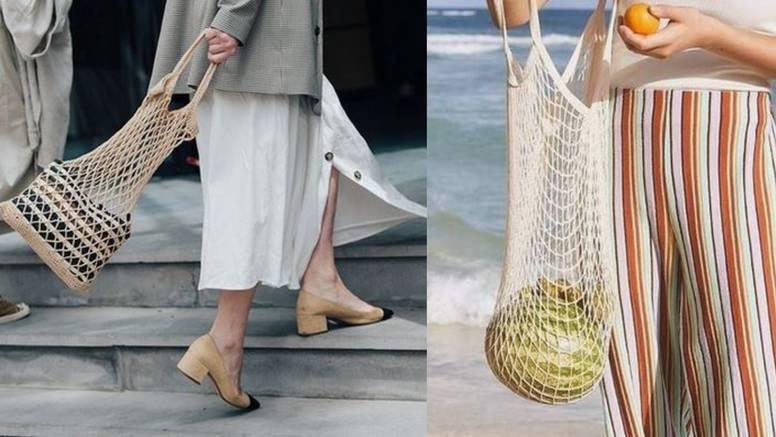 Ribarska mreža: Eko torba koja ide na plažu, plac i kavu na špici
