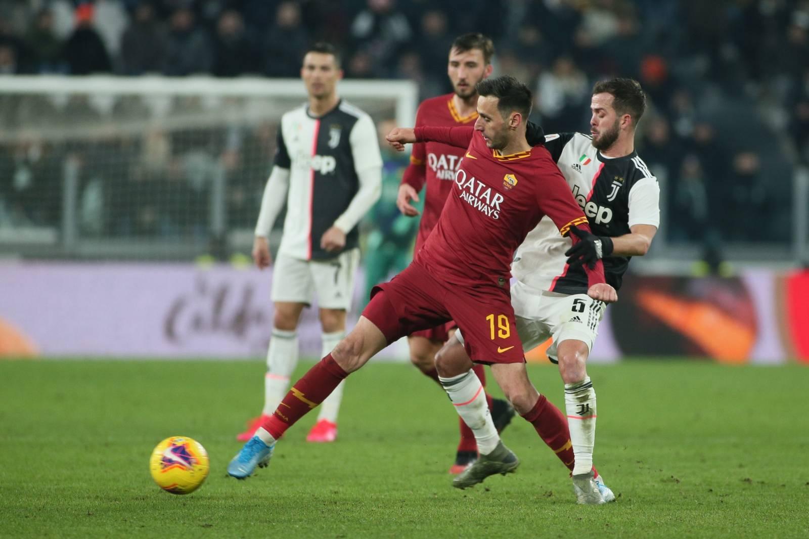 Italian TIM Cup Championship  Juventus vs Roma