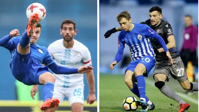 Dinamo - Rijeka, Hajduk protiv Lokomotive u polufinalu Kupa!