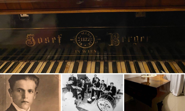 Klavir preživio ratove i selidbe, te doživio punih 148 godina...