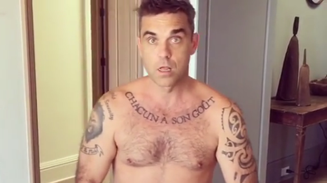 Robbie Williams: Rekao sam ne drogi i alkoholu, sad više pazim