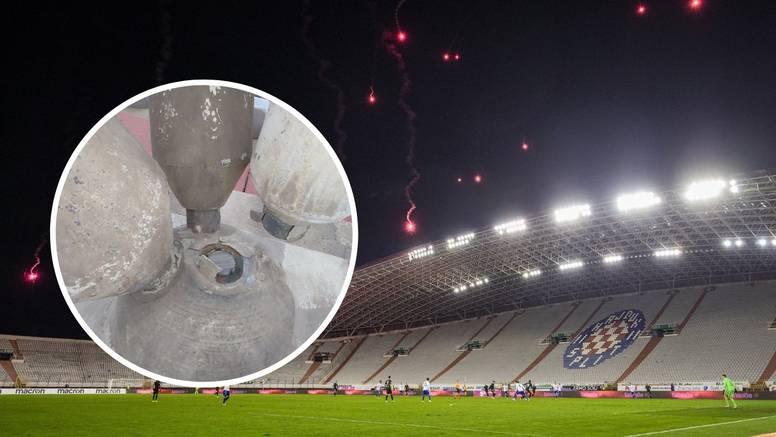 Procurile fotografije oštećenog Poljuda, Hajduk demantirao: Ma to je samo manja šteta