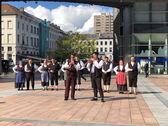 'Istra je na glavnom briselskom trgu zakantala i zaplesala...'
