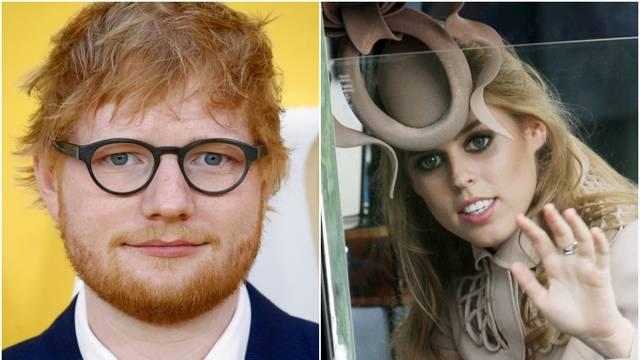 Princeza Beatrice Edu Sheeranu mačem posjekla lice: 'Nikada se o tome nije javno progovorilo...'