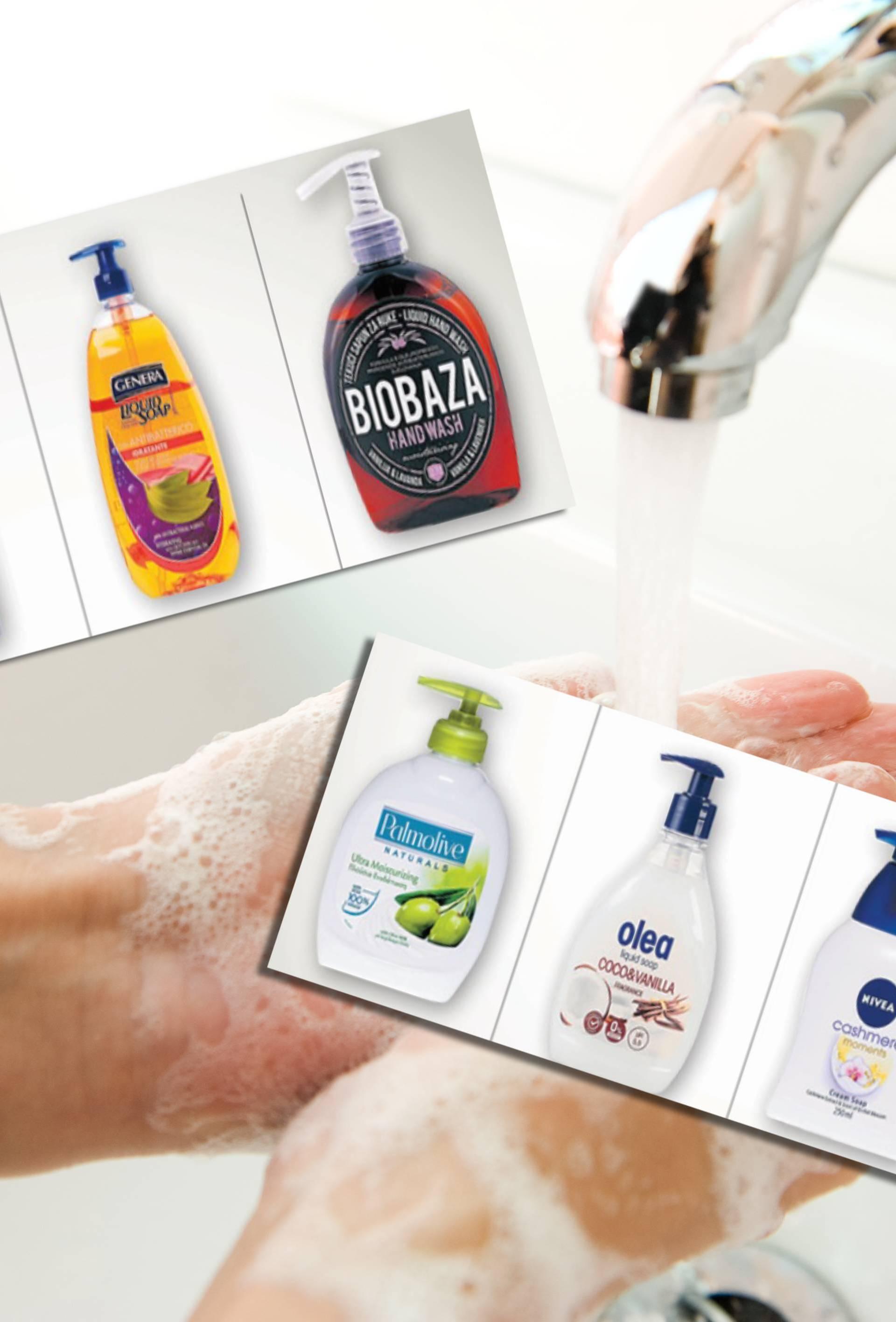 Čvrsti ili tekući sapuni? Koža teže podnosi čvrste zbog vode
