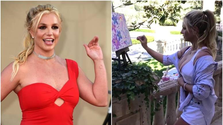 Britney postala slikarica: Imat će i prvu samostalnu izložbu...
