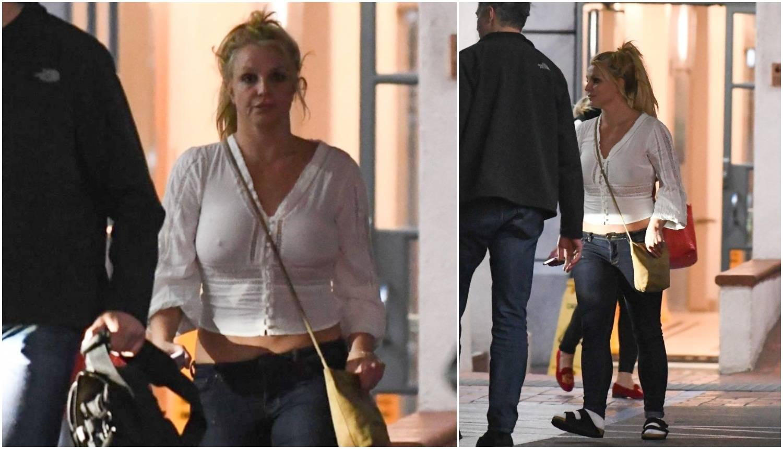 Rastresena Britney Spears iz klinike išetala bez grudnjaka...