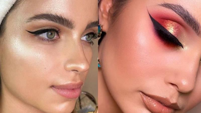 Zoom make-up: Definirane obrve, moćan ruž i sjajni puder