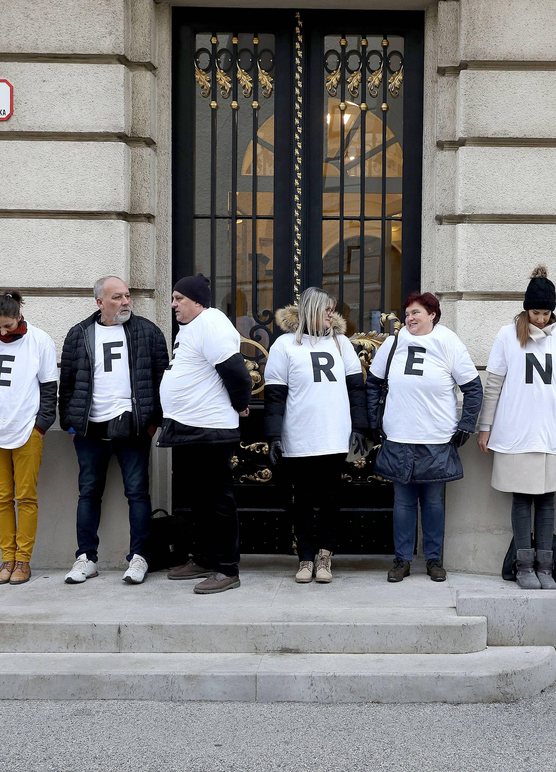 Zagreb: Sindikati i danas posvjeduju protiv mirovinske reforme