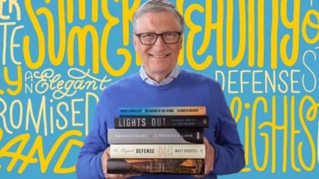 Što čitati preko ljeta? Bill Gates ima pet knjiga koje preporučuje