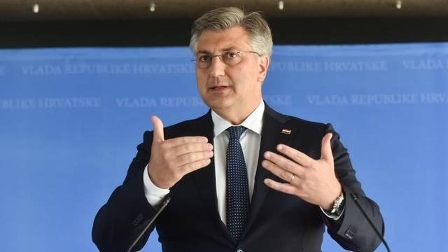 Nadrej Plenković obrušio se na novinare i napustio konferenciju za medije