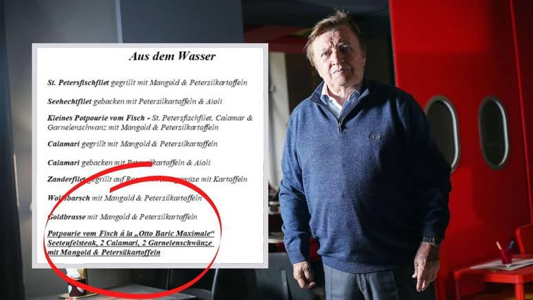 """U Beču su čak nazvali jelo po njemu: Riblja plata """"Otto Barić Maximale"""" bila je najveći hit"""
