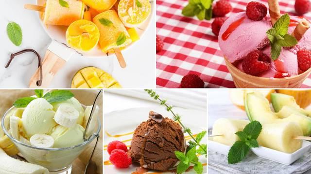 U samo par minuta napravite osvježavajući domaći sladoled