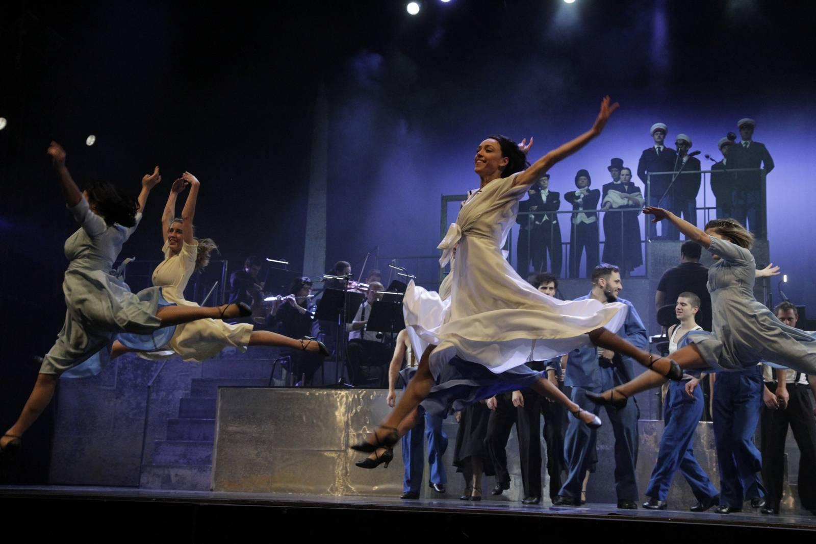Mjuzikl Evita na Međunarodni dan žena u Lisinskom