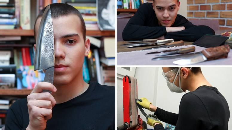Nikola (16): Nakon škole svaki dan izrađujem lovačke noževe