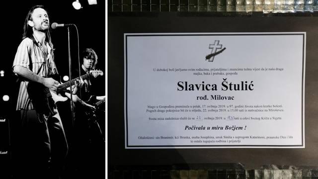 Nakon kratke bolesti preminula majka Johnnyja Štulića...