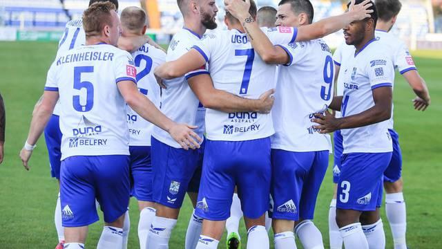 Osijek: Utakmica NK Osijek i HNK Rijeka u 4. kolu Prve HNL