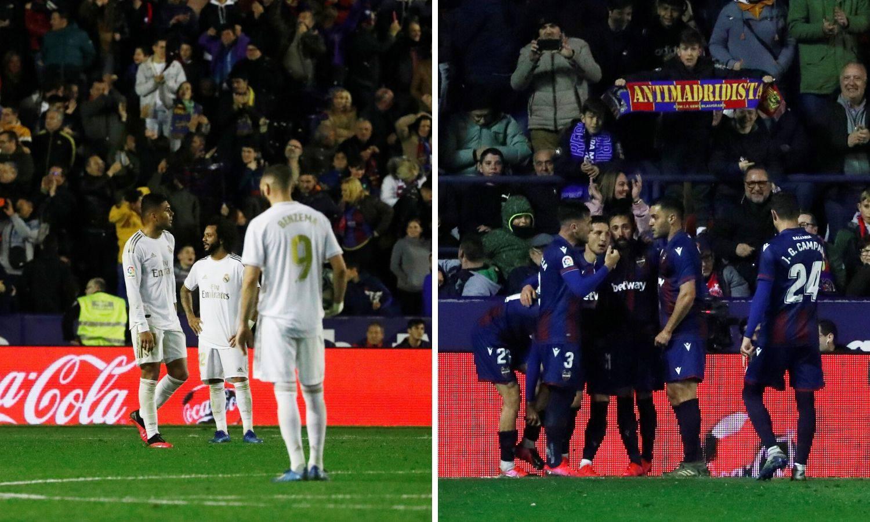 Levante srušio Real, Modrić samo ispratio bombu  Moralesa
