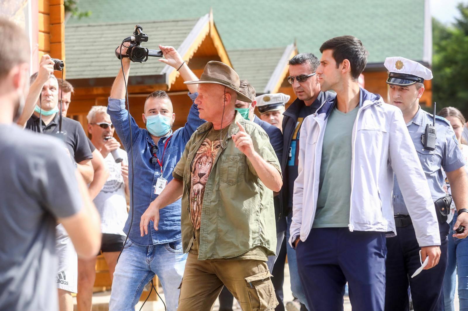 Novak Đoković posjetio Bosnske piramide te nakon toga otišao na ručak