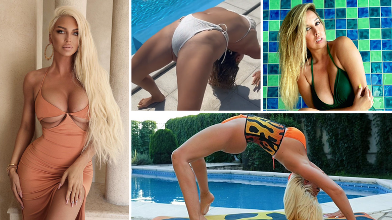 Nives Celzijus i Karleuša dan su posvetile tjelovježbi, u bikiniju su izvodile prave 'vratolomije'