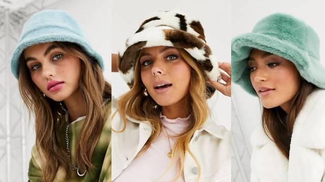 Krzneni 'bucket hat' postao je super hit za zimske stylish dane