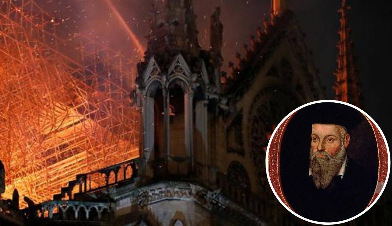 Nostradamus predvidio požar? 'To će  biti uvod u povratak zla'