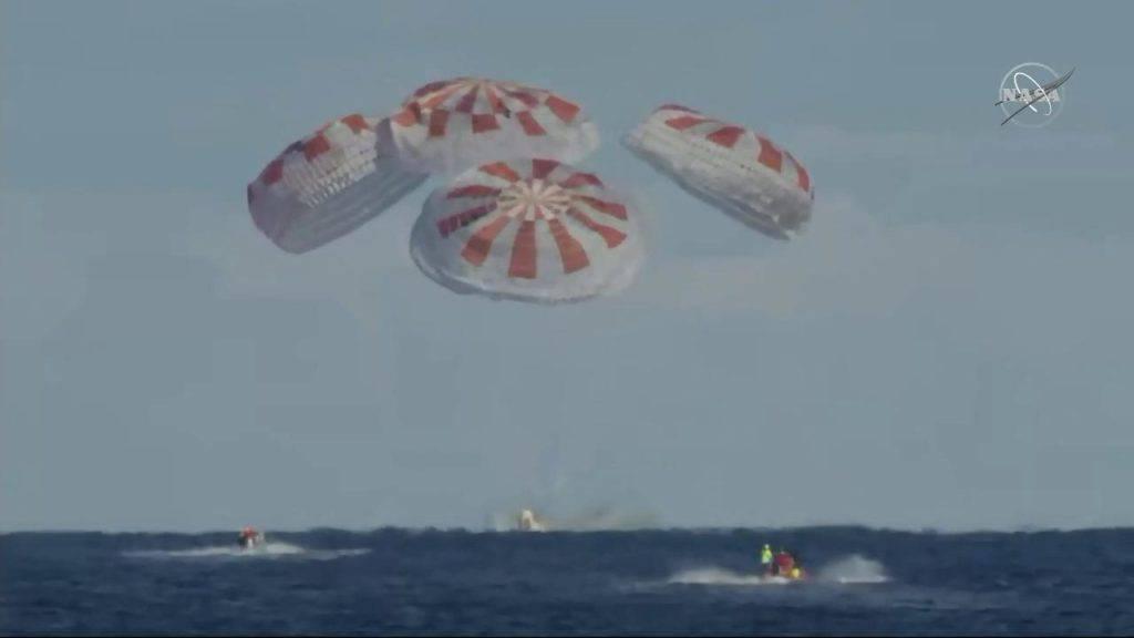 Sad čeka i posadu: Muskova letjelica Dragon vratila  se kući