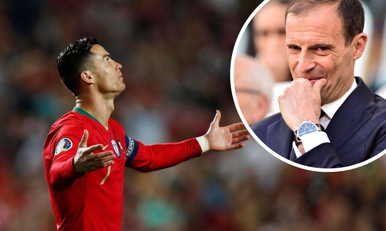 Allegri: Cristiano se oporavlja, ali teško da će igrati s Ajaxom