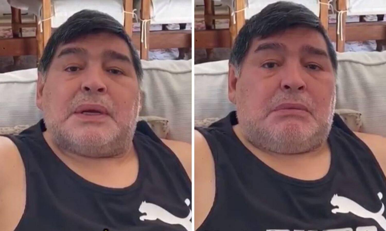 Emotivni Maradona pustio je suzu: Pomozite ljudima da jedu