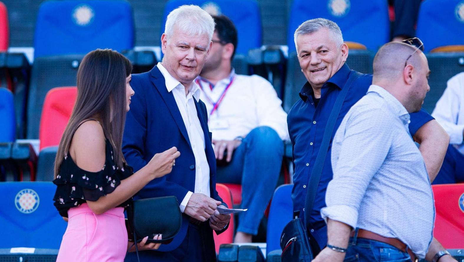 Split: Poznata nogometna lica nisu propustila popratiti susret Hajduka i Osijeka