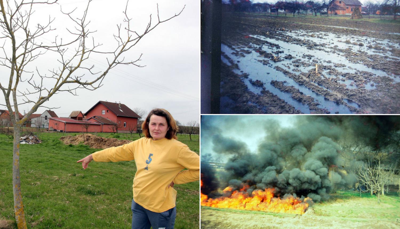 'Nafta nam je i ranije uništila polja, na njima ništa ne raste'