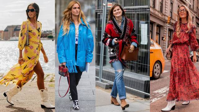 Divlji Zapad kao inspiracija: 10 lepršavih modnih kombinacija