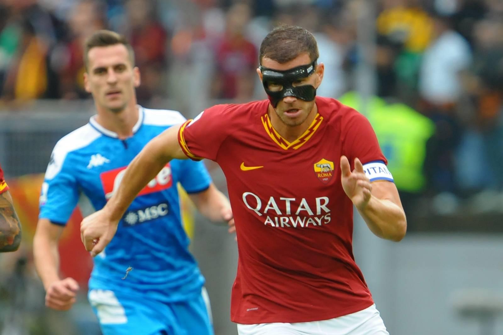 italian Serie A soccer match AS Roma Italian soccer Serie A season 2019/20