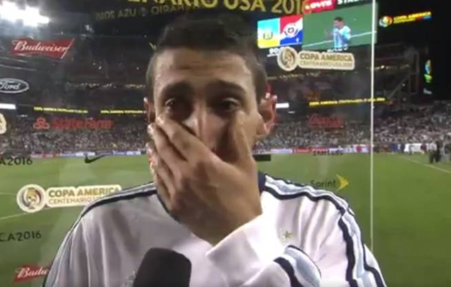 Di Maria zabijao i plakao: Bako, ovo je za tebe, falit ćeš  mi jako