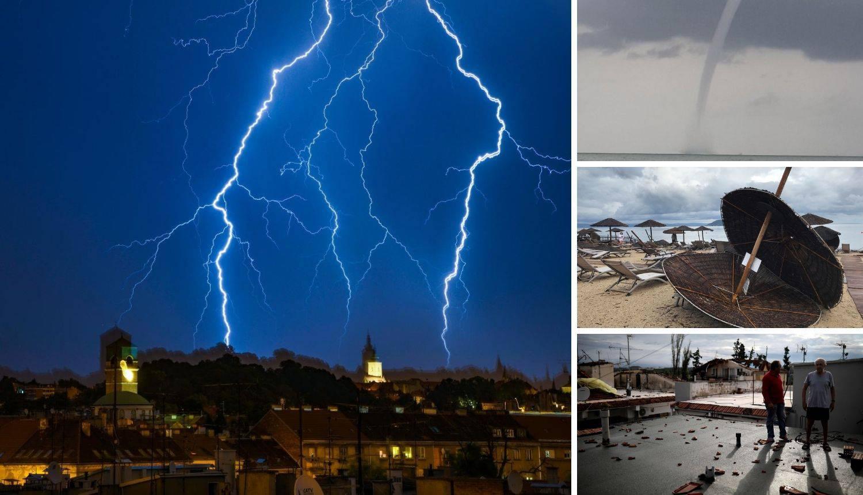 Oluje haraju Mediteranom, kiša i grmljavina dolaze u Hrvatsku