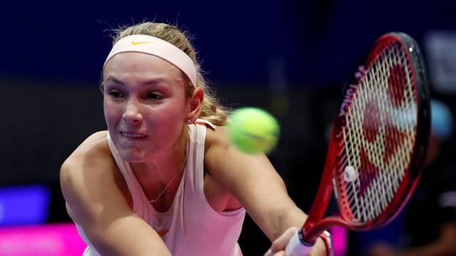Tennis - Pan Pacific Open Women's Singles Semifinal match