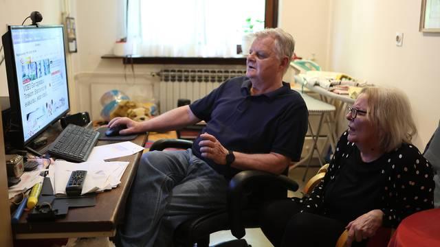 Slijepoj supruzi svaki dan čita 24sata: 'Volimo raspravljati o svemu, a najviše o politici'