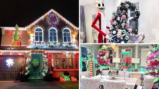 Svoju kuću su već pretvorili u božićnu: Imaju ukrase u svakoj sobi i Grincha u pravoj veličini