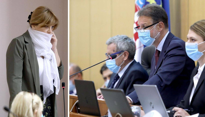 Jandroković najavio mogućnost da maske u Saboru postanu obavezne - zbog Vidović Krišto