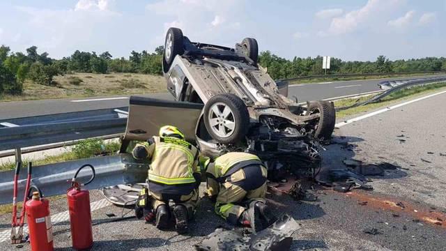 Strašna nesreća na Ipsilonu: Probio ogradu, dvoje u bolnici