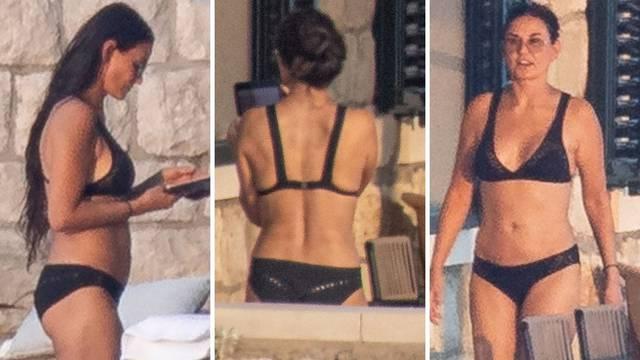 Ekskluzivne fotke Demi Moore: U Dubrovniku uživa u vili, blizu je 60., ali je i dalje 'bomba'